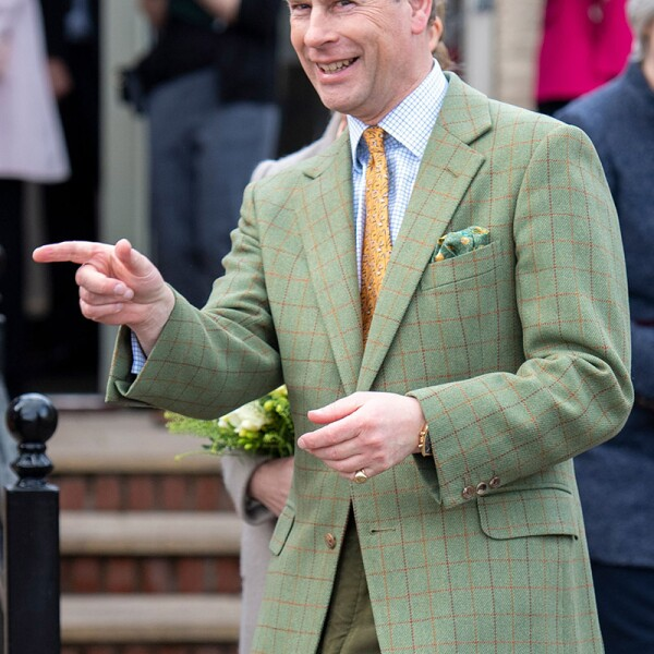 Prince Edward and Sophie Countess of Wessex visit to Mersea Island, Essex, UK -