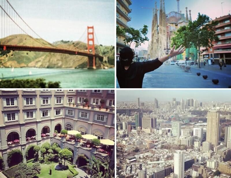 Harry Styles es un trotamundos, ¡el cantante tiene fotos de las ciudades más importantes del mundo en su Instagram!