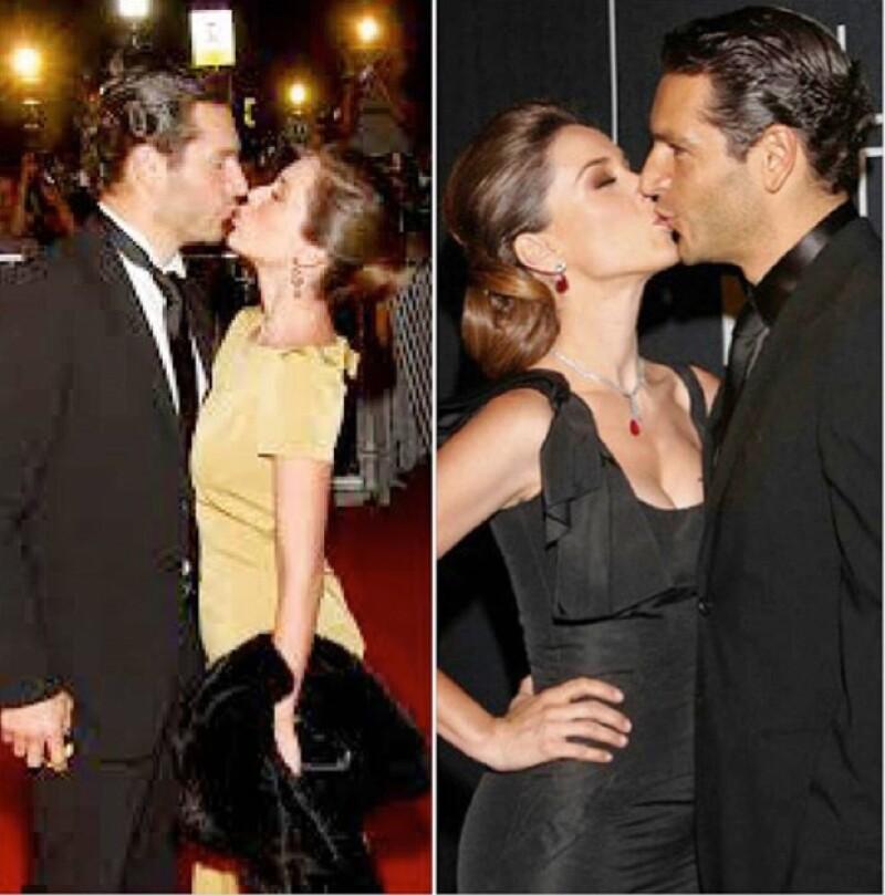Ya sea en una ocasión especial o de forma esporádica, las parejas de estas celebs no han perdido oportunidad de expresarles lo mucho que significan para ellos.