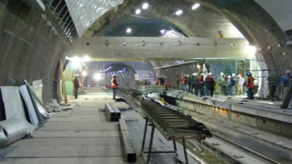 Construcci�n metro