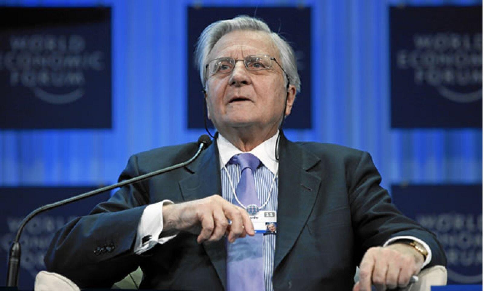 El presiden del Banco Central Europeo, Jean Claude Trichet, hizo eco de la defensa del euro del mandatario francés, Nicolás Sarkozy.
