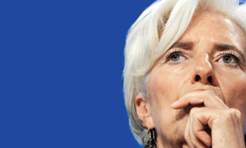 Christine Lagarde, directora del Fondo Monetario Internacional. (Foto: Reuters)