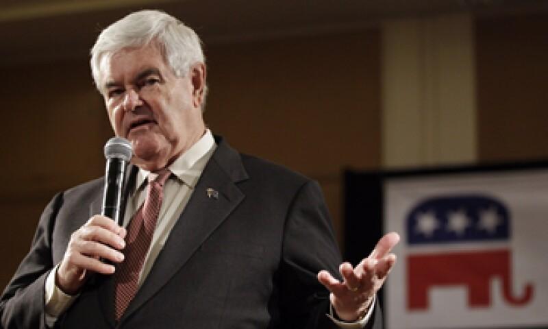 La promesa Newt Gingrich podría conseguir atención mediática, pero hay poco que pueda hacer para influir en el precio de la gasolina. (Foto: AP)