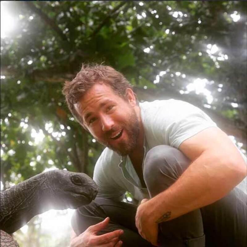 El actor Ryan Reynolds ha publicado ya algunas fotografías de su vida personal.