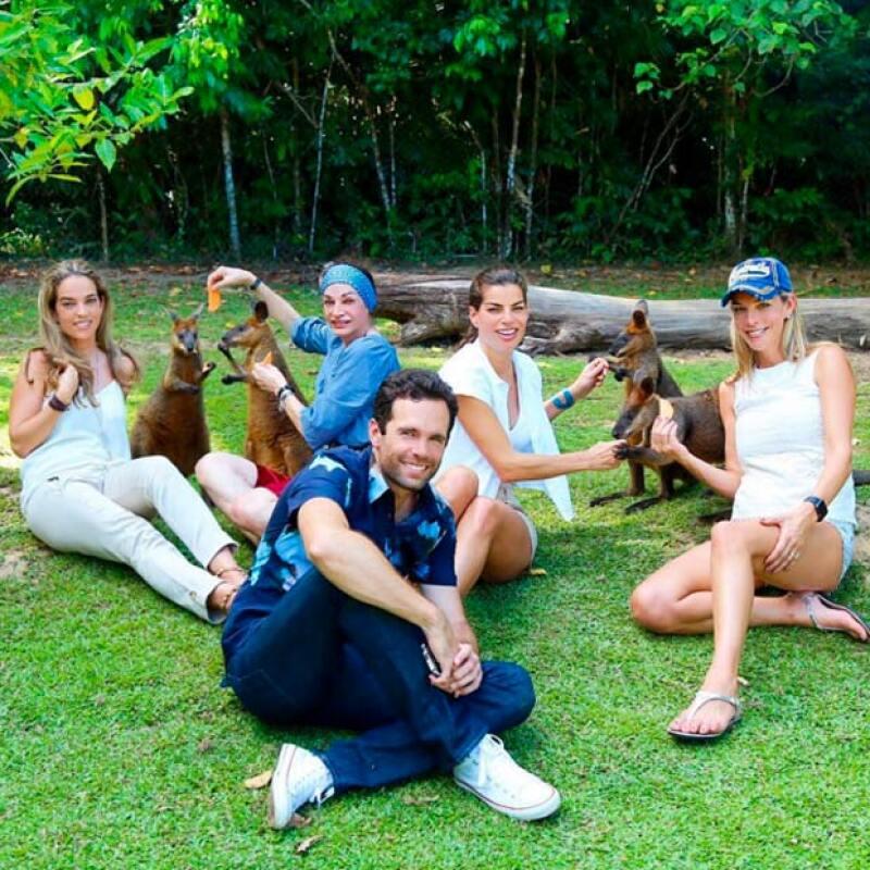 Bárbara y Alejandro se encuentran disfrutando de su amor y la familia en Australia.