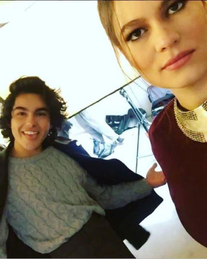 Sergio Mayer y Natália Subtil