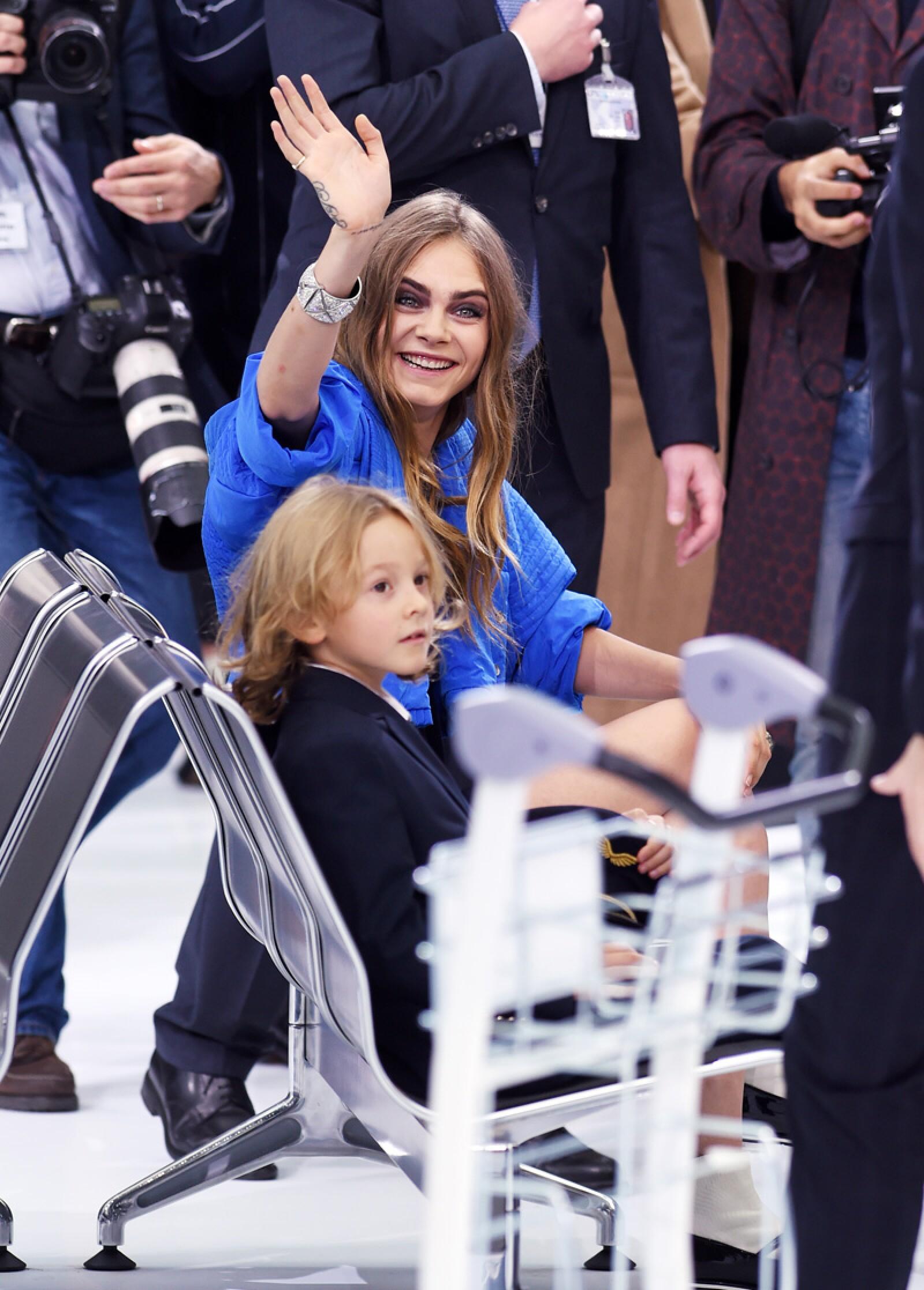 Chanel show, Spring Summer 2016, Paris Fashion Week, France - 06 Oct 2015