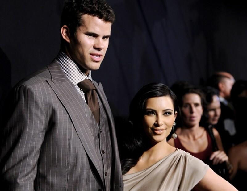 Kim Kardashian duró casada 72 días con Kris Humphries, lo cual fue el mayor escándalo de la socialité.