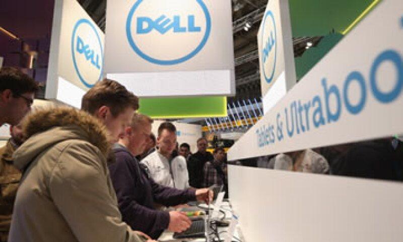 Dell reportó una caída de 72% en sus ganancias trimestrales en agosto pasado. (Foto: Archivo)
