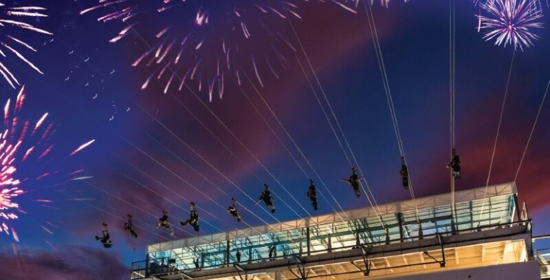 FLY LINQ FIREWORK SHOW