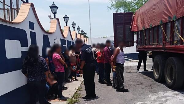 Migrantes en Veracruz