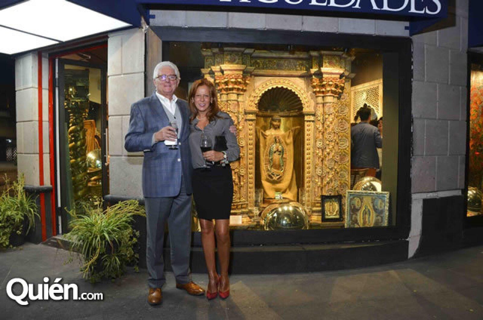 Marco Jiménez y Claudia Patiño