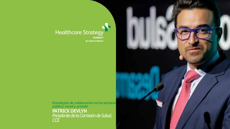Patrick Devlyn, presidente de la Comisión de Salud del CCE.