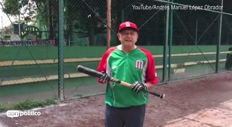 López Obrador -  Beisbol