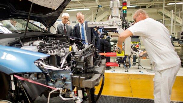 Volkswagen inversión