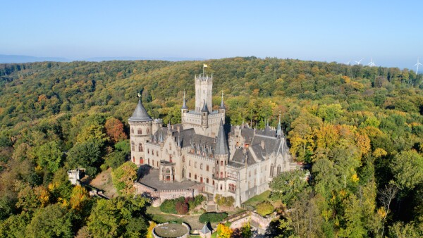 Golden October at Marienburg Castle