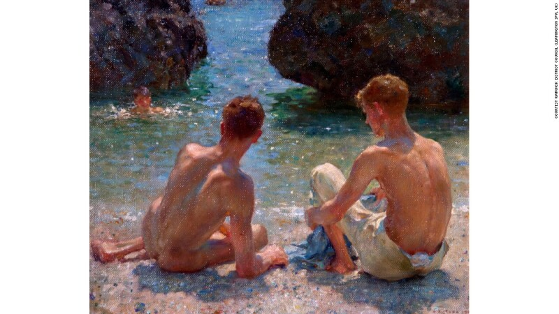'The critics' (1927), por Henry Scott Tuke