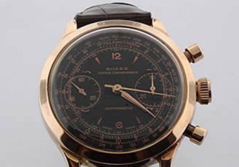 Docenas de relojes, como este Rolex, se subastarán el sábado. (Foto: cortesía de Gaston & Sheehan Auctioneers)
