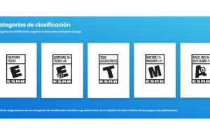 Clasificación en videojuegos
