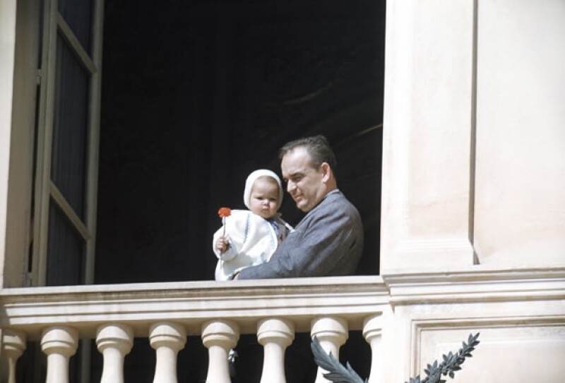 Carolina siempre fue la consentida de su padre.