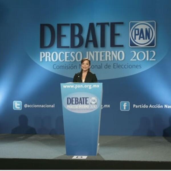 Debate precandidatos PAN, Vazquez Mota