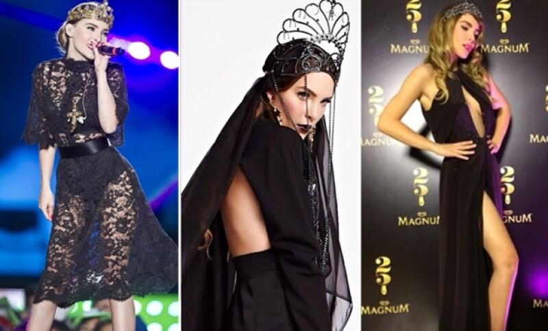 La cantante de 24 años ha adoptado diferentes pero muy originales formas de lucir su delineada figura a lo largo de su carrera. Aquí un recuento de las tendencias que ha seguido.