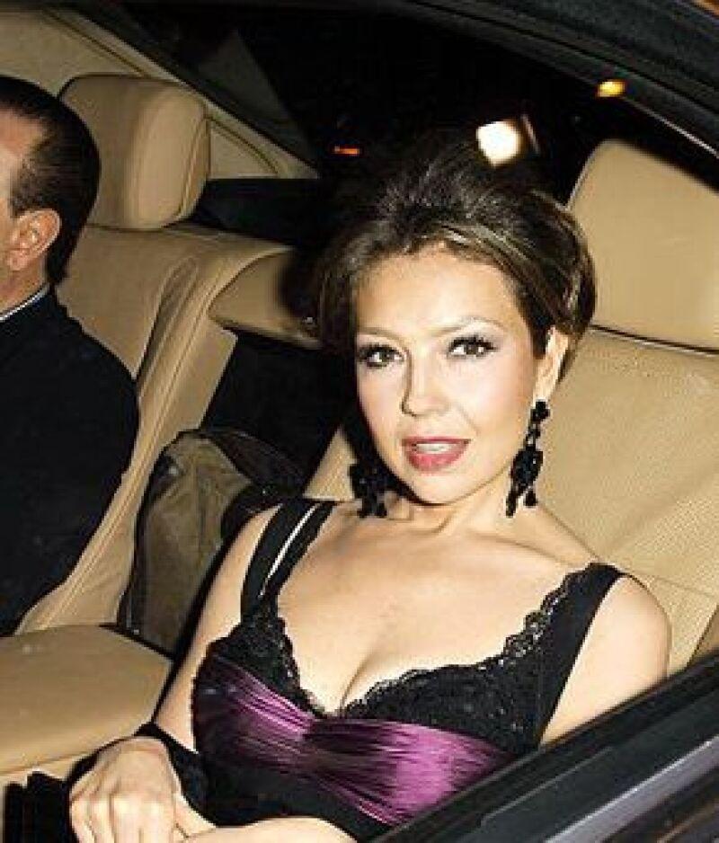 La pareja acudió al enlace del polémico presentador con la modelo Beth Ostrosky.