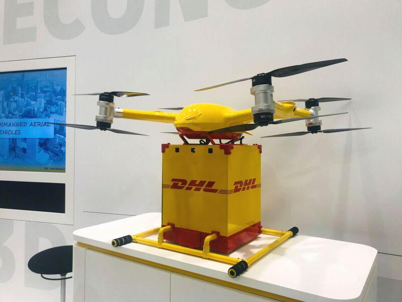 Dron DHL