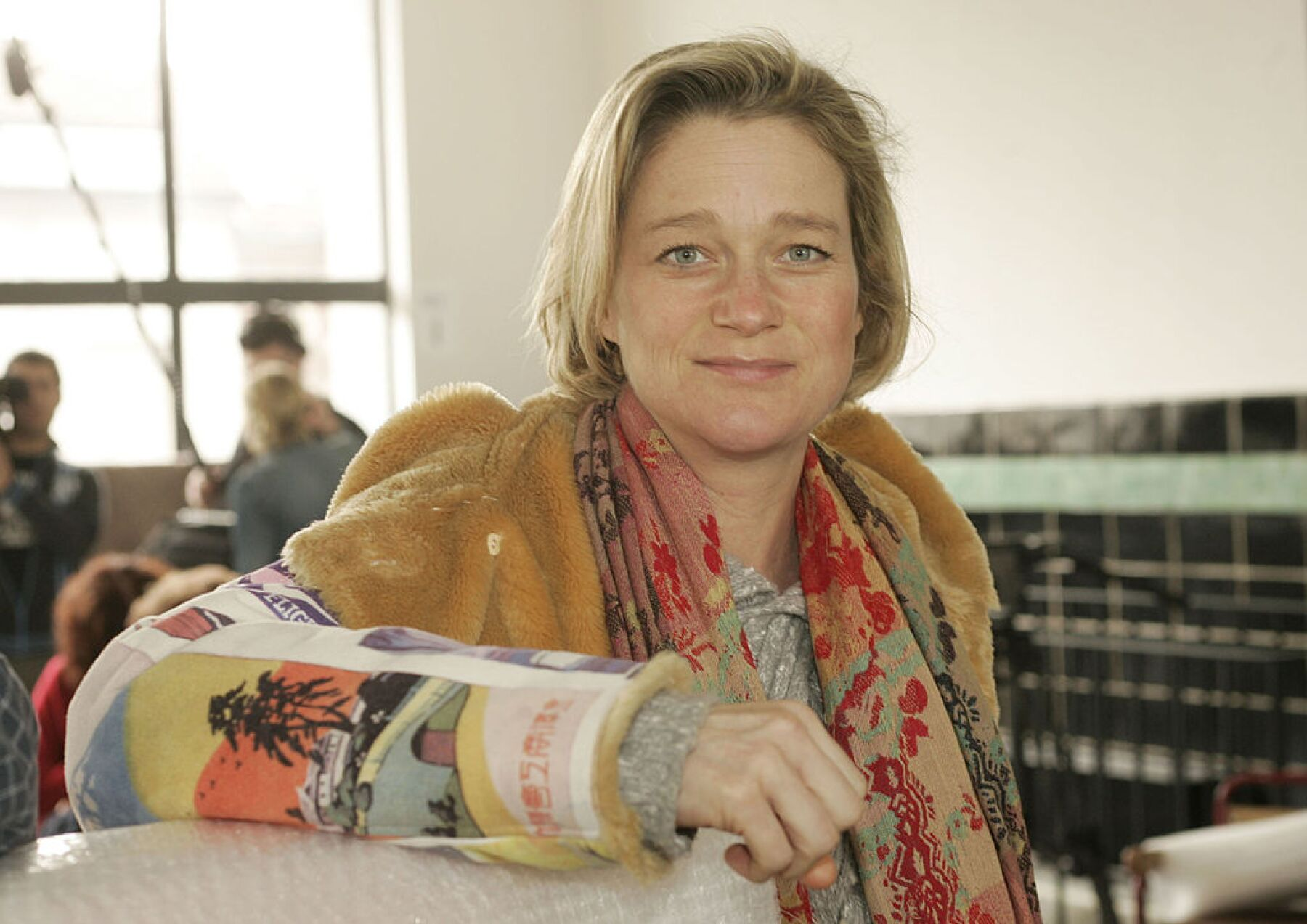 Delphine Boel Attends The Canvas Collection Jury In Brussels