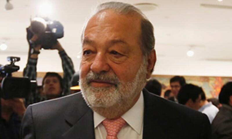 El empresario Carlos Slim se quejó que desde la administración pasada el Gobierno le impidiera competir en televisión de paga.  (Foto: Reuters)