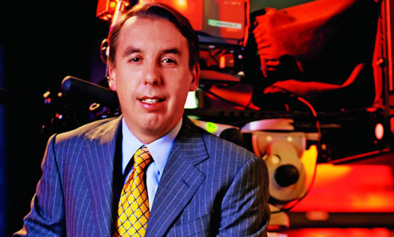 Emilio Azcárraga, también llamado 'Tigre Junior', tomó el mando de Grupo Televisa con tan sólo 29 años de edad a consecuencia de la muerte de su padre, Emilio Azcárraga Milmo, en 1997.