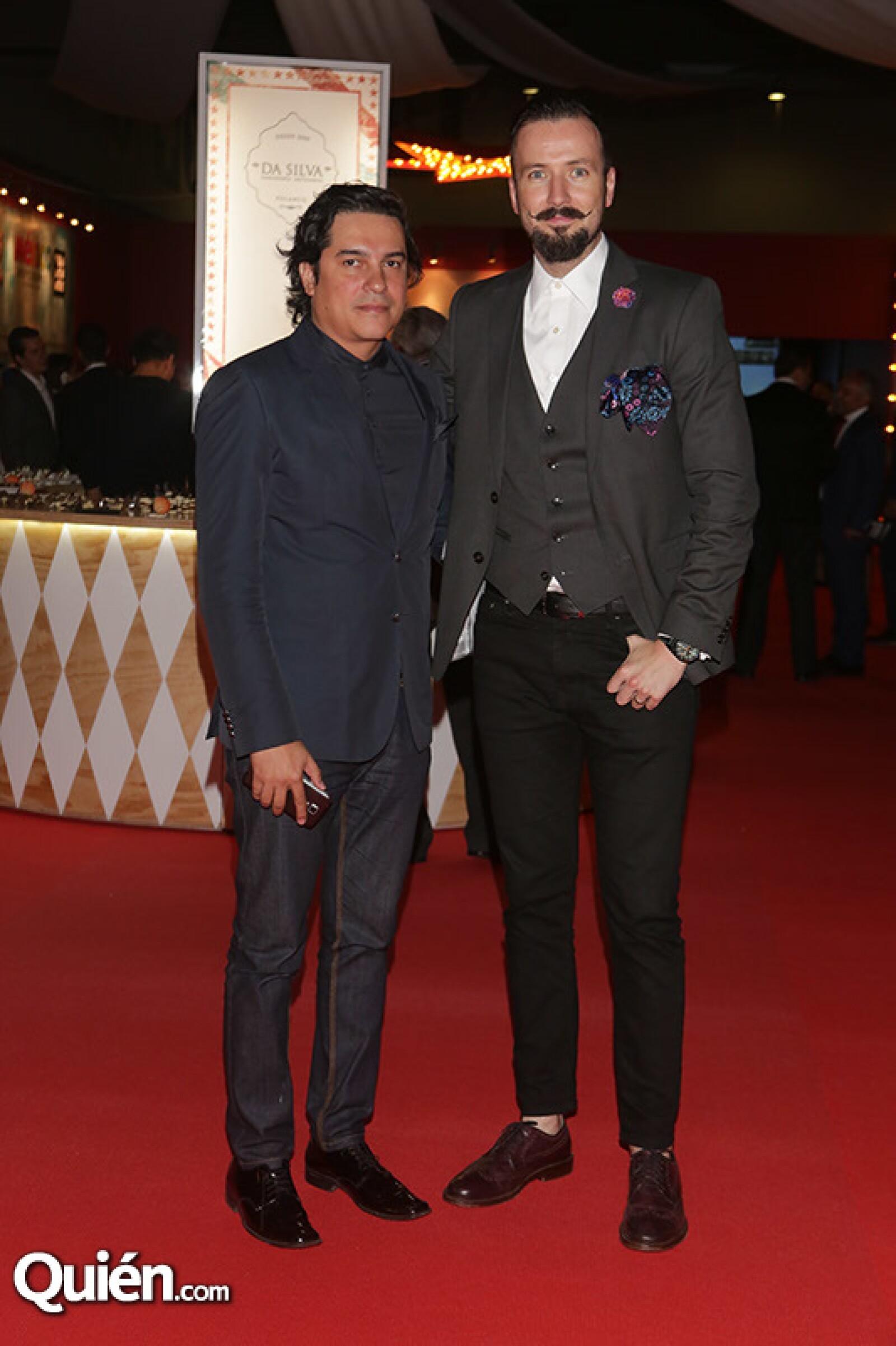 Álvaro Campos y Juanchi Torre