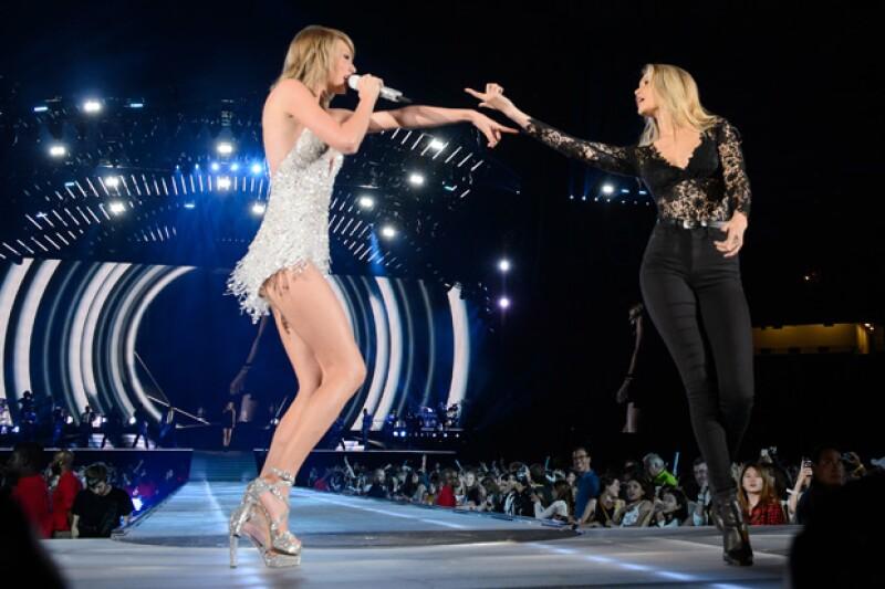 No cabe duda que Taylor y Gigi saben pasarla muy bien juntas.