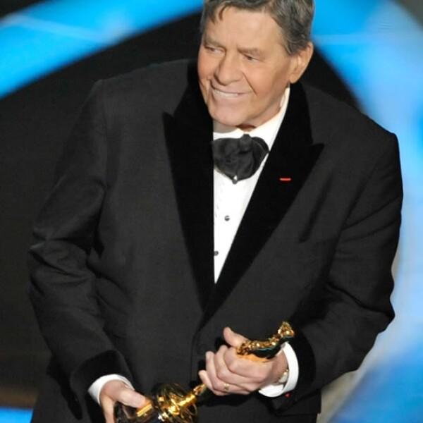 El tres veces anfitrión Jerry Lewis tuvo que improvisar cuando fue presentador de los  premios de la Academia en 1959