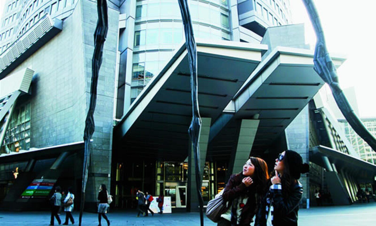 La estructuras de todo Tokio están hechas para tener tranquilidad e introspección.