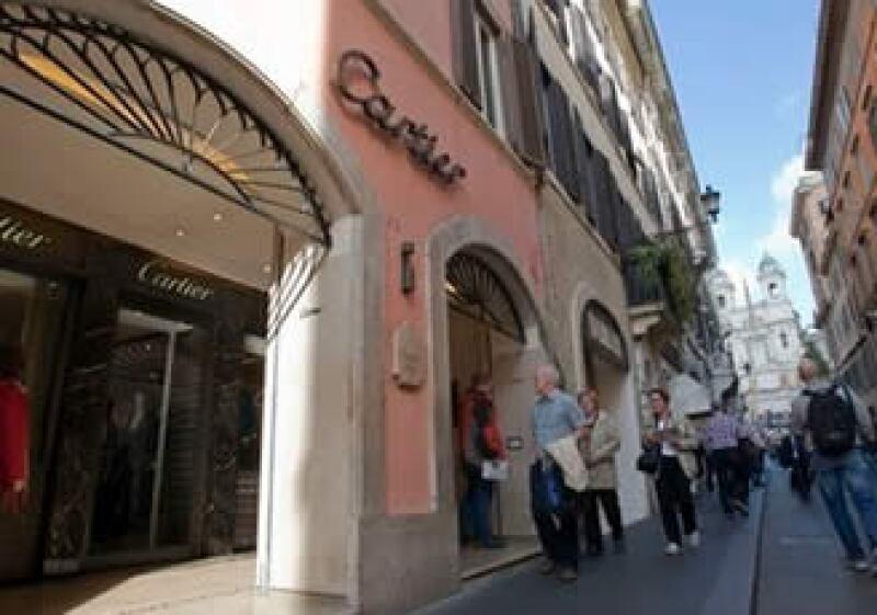 Una tienda de Cartier en Roma fue víctima de un robo de una joya de 500,000 euros. (Foto: AP)