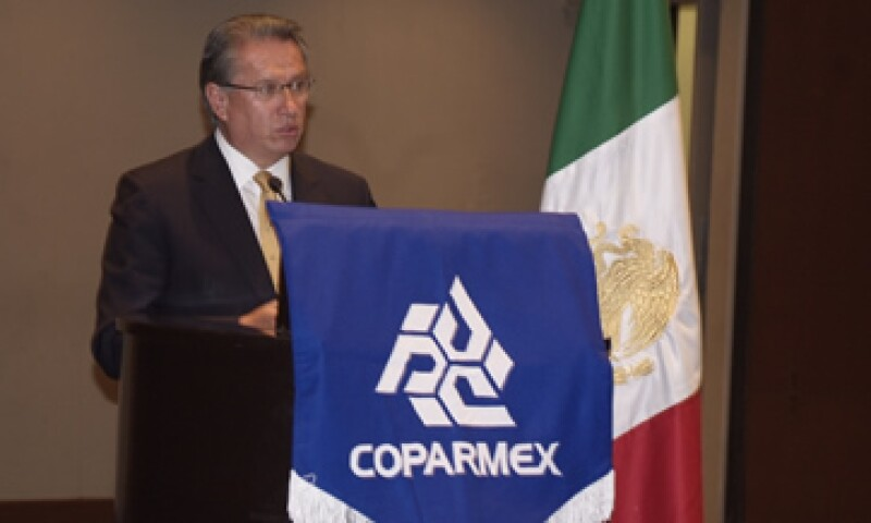 Alberto Espinosa fue electo durante la sesión extraordinaria de la Comisión Ejecutiva de Coparmex. (Foto: Cortesía Coparmex)
