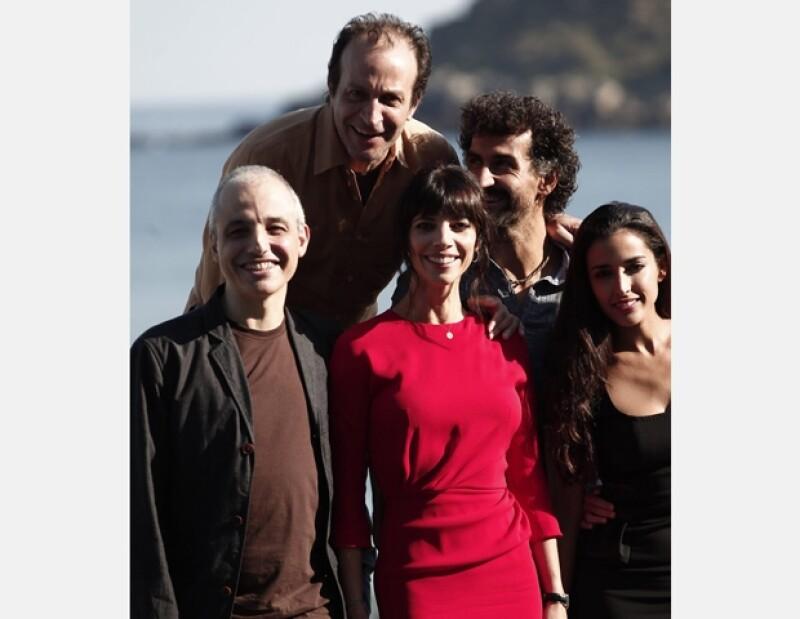 Con gran aceptación, el actor mexicano presentó en San Sebastián el filme del cineasta Pablo Berger.