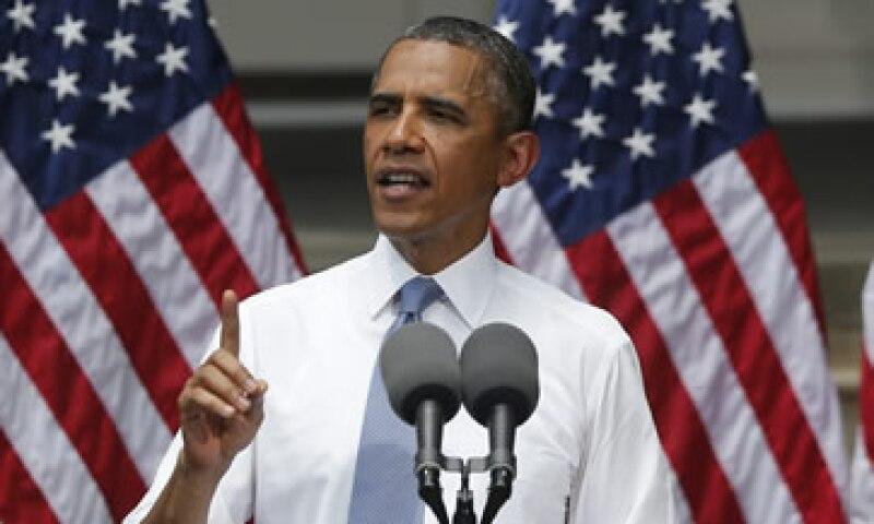 Obama dijo que quiere ver una solución basada en el mercado respecto al clima. (Foto: AP)