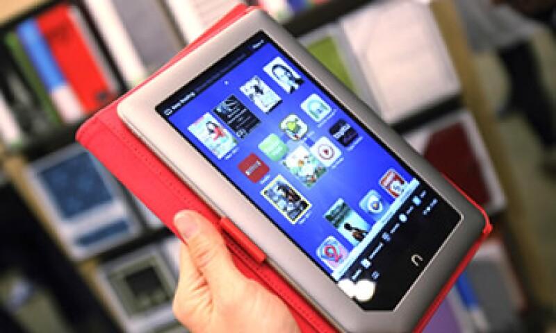 La Nook Tablet, de Barnes and Noble, saldrá a la venta el 16 de noviembre. (Foto: Reuters)