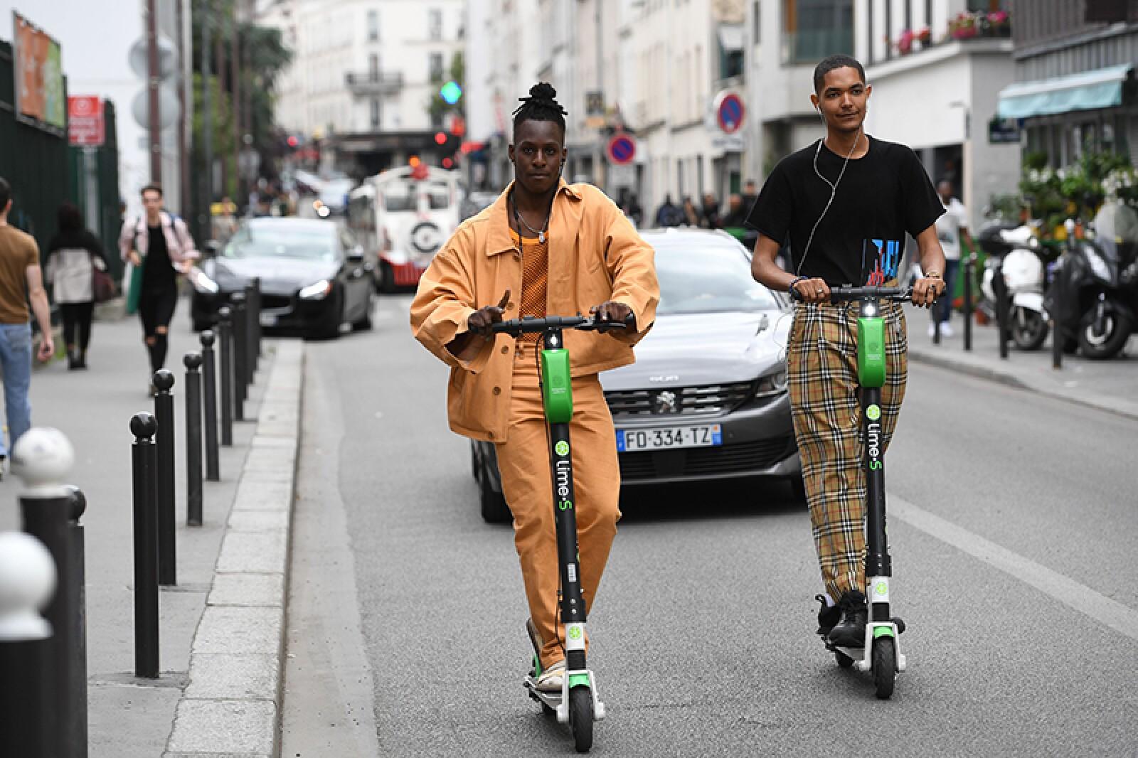 Street Style, Spring Summer 2020, Paris Fashion Week Men's, France - 20 Jun 2019