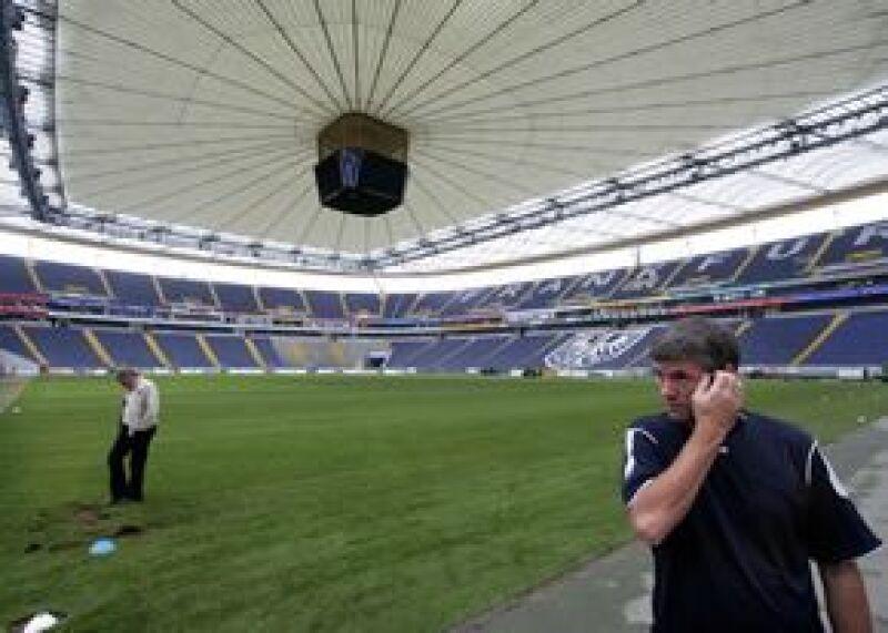 El estadio de Francfort en Alemania quedó muy dañado después del concierto de la cantante.