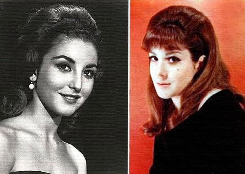 Angélica María se ganó el nombre de `la novia de México´ y es mamá de Angélica Vale. Julissa causaba sensación con su sensualidad y es mamá de Benny Ibarra.