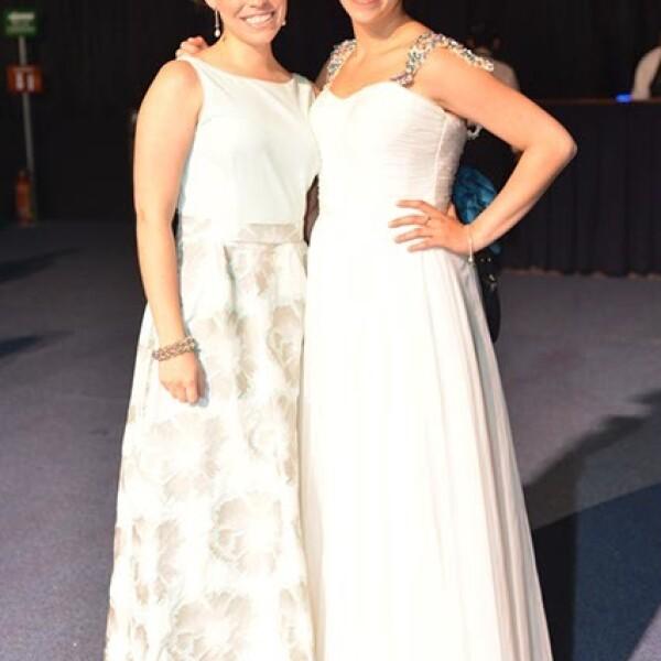 Ana Barajas y Juliette Kanahuati.