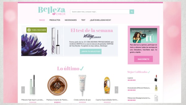 """A través de Belleza Check podrás """"saber más y comprar mejor""""."""