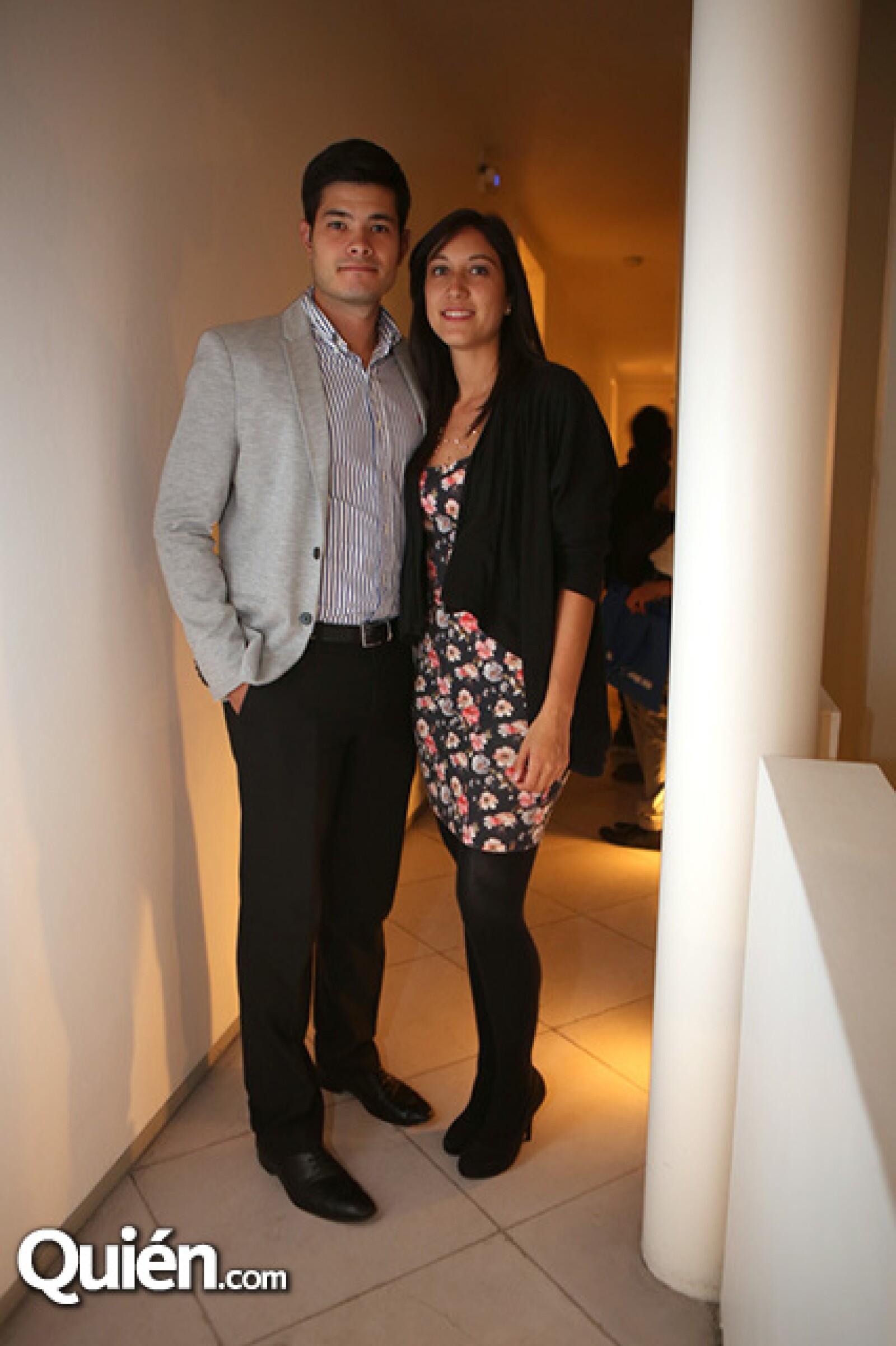 Óscar Amante y Alejandra Cervantes