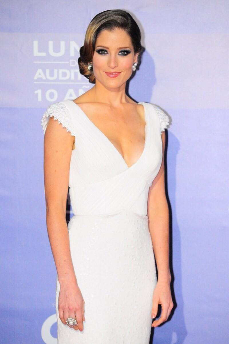 María Ines como siempre lució impecable con su outfit.