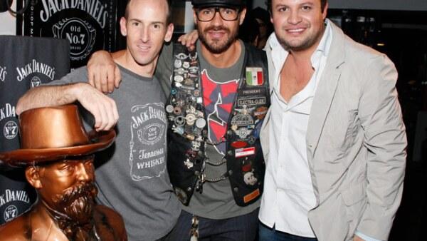Aaron Martin, Jorge Poza y Rodrigo Gómez.