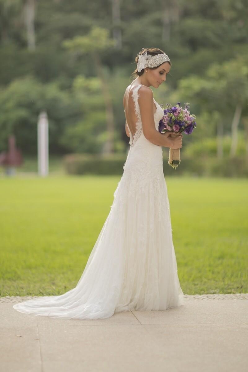 Luego de haberse comprometido con Alberto Guerra en marzo de este año, finalmente Zuria Vega se casó ayer con el actor.