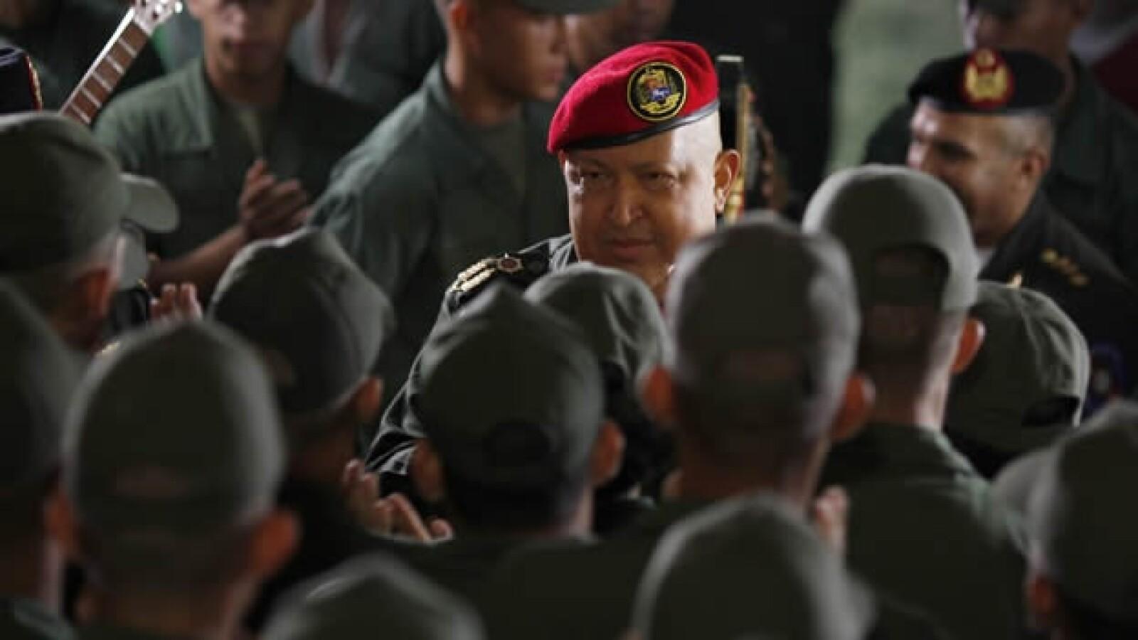 Venezuela - Chávez - militares